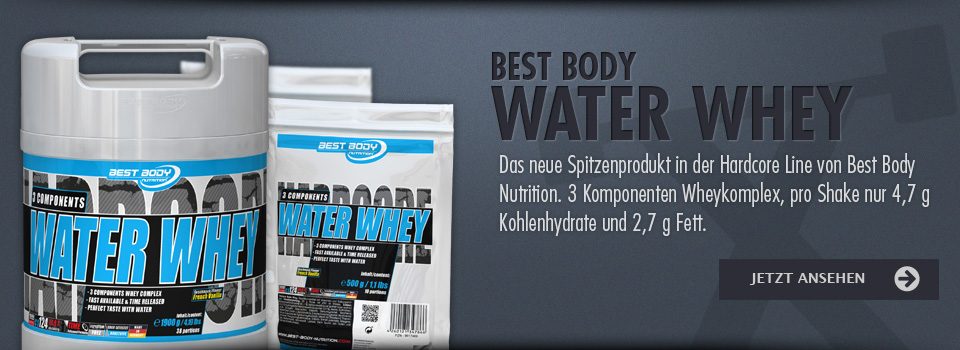 Best Body Water Whey Protein Eiweiss kaufen